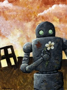 Robot Apocalypse - Beauty in the aftermath.